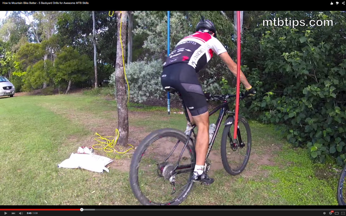 video how to mountain bike better 5 backyard drills for awesome