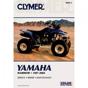 Clymer Yamaha Warrior (1987-2004). Yamaha Warrior 1987 ... on 87 honda magna wiring diagram, 87 harley sportster wiring diagram, 87 yamaha warrior battery,