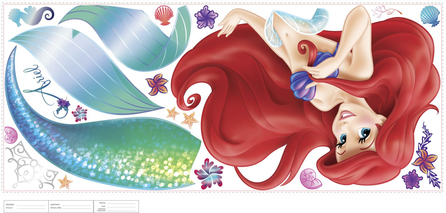 Disney :: The Little Mermaid :: The Little Mermaid Giant Wall Stickers