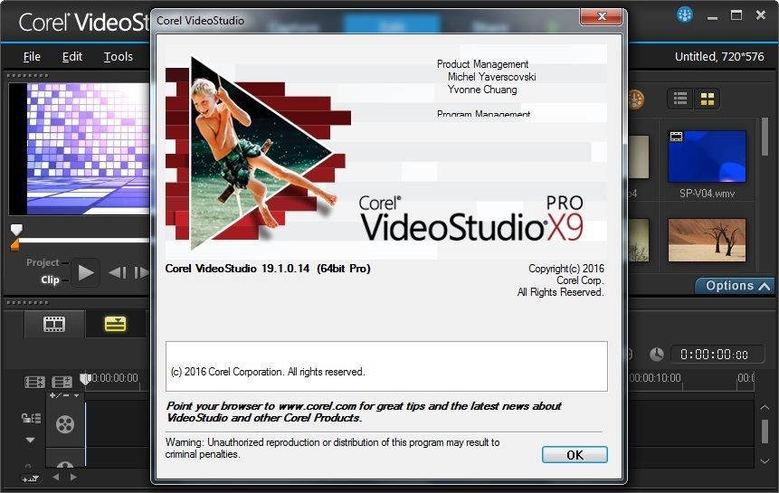 corel videostudio serial number x9