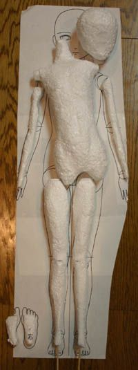 How To Make A Foam Core For Ball Joint Dolls Tutorial This Is