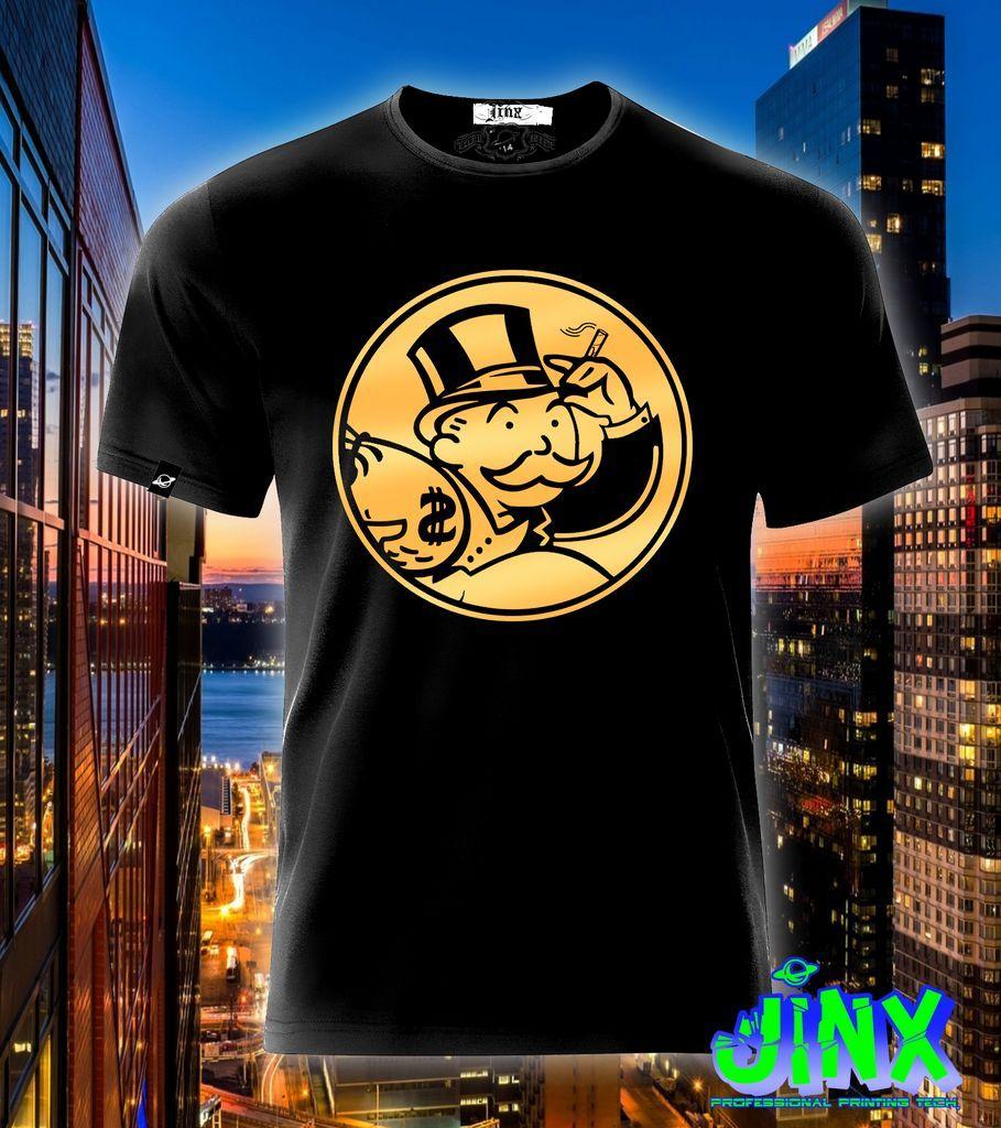 $179.00 Playera o Camiseta Monopoly En Fuga - Comprar en Jinx