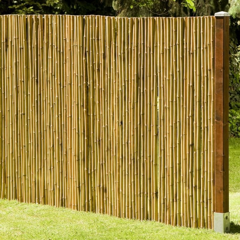 Details zu Sichtschutz aus Bambus DeLuxe Gartenzaun