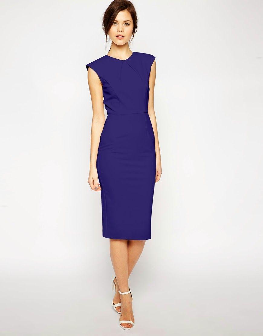 Elegantes vestidos de moda para la oficina 2015 | ¿Como vestir para ...