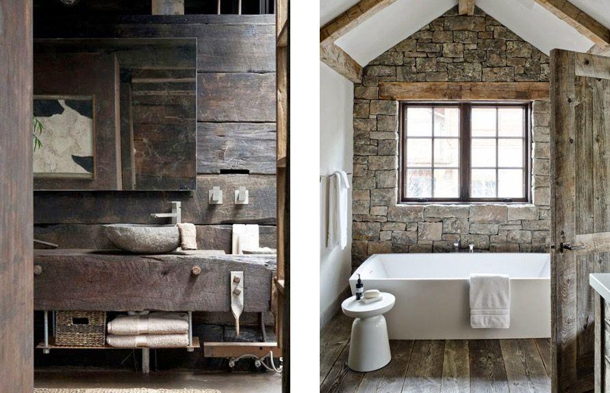 Tips imprescindibles para baños rústicos perfectos Baños rústicos - modelos de baos