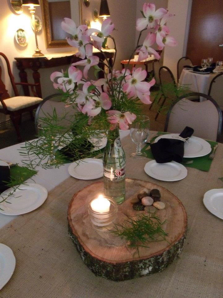 Here Is The Wedding Rehersal Dinner Table Display Rehearsal