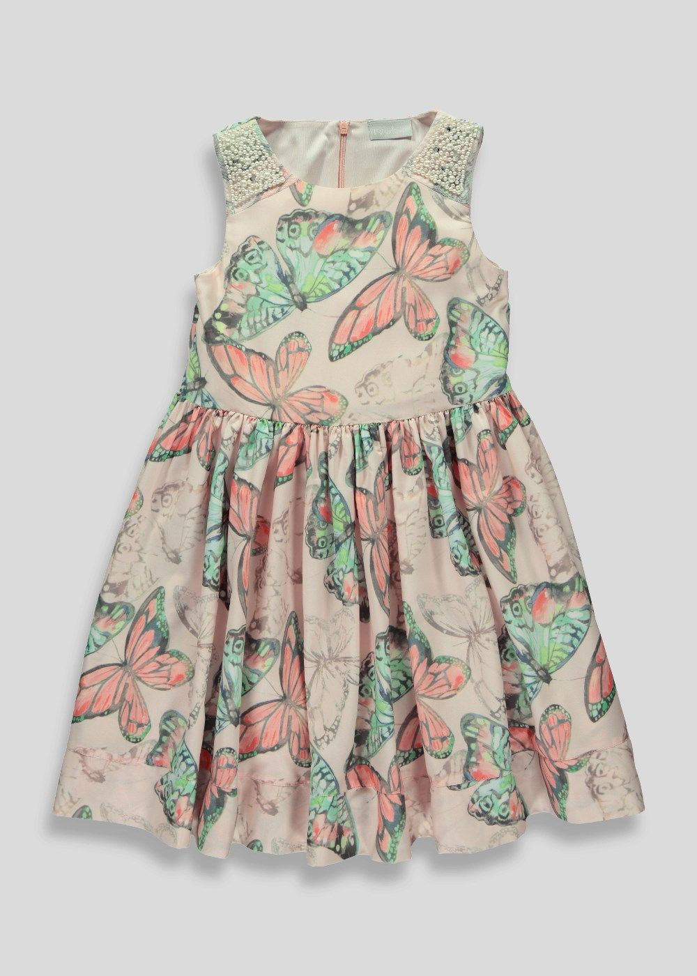 Girls Butterfly Prom Dress (3-13yrs) - Matalan | matalan | Pinterest