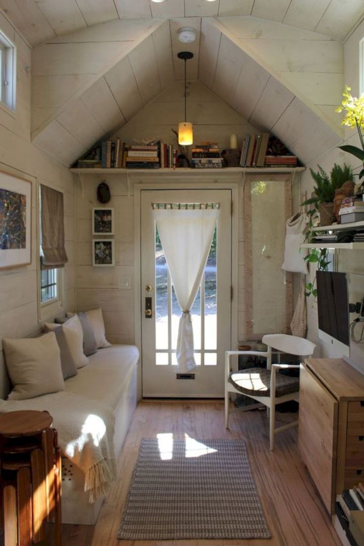 16 Tiny House Interior Design Ideas Haus design, Wohnen