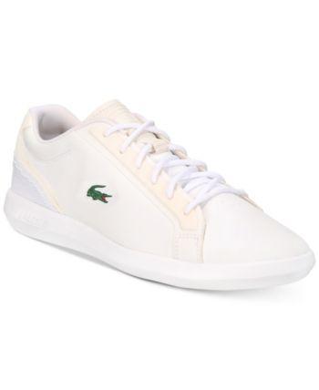 01ceb991ad61ff Lacoste Men s Avantor Lightweight Sport Sneakers - White 13