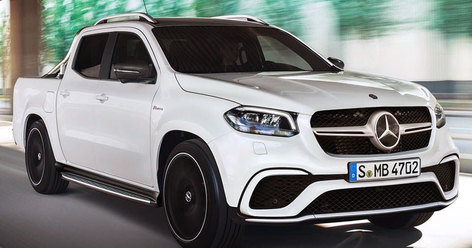 Mercedes Amg X63 Pickup Is Unlikely Food For Thought Mercedes