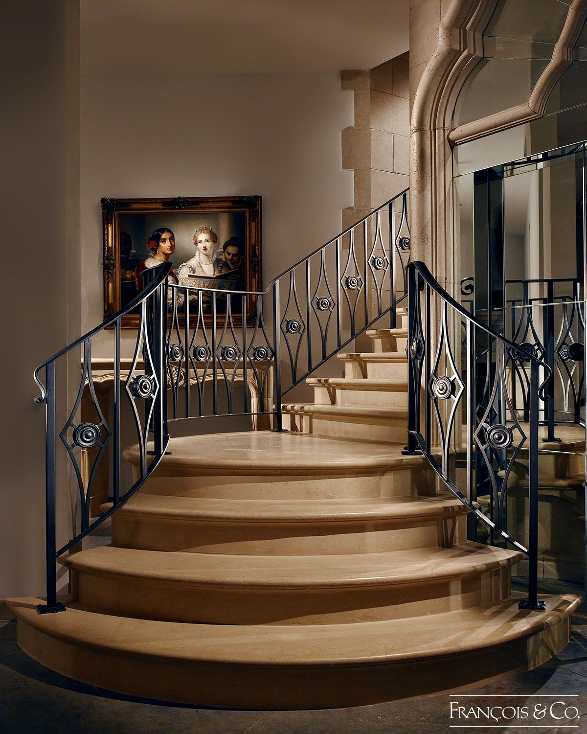 Stair Designs Railings Jam Stairs Amp Railing Designs: Structures - François & Co.
