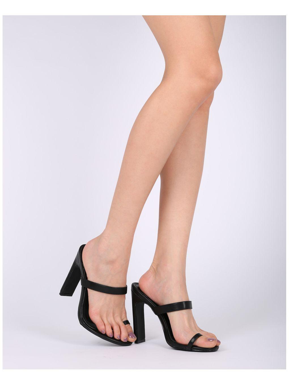 Mackinj Ring Hg88 Leatherette Shoes SandalSandals Heel Wide Toe kuPXlwOZTi
