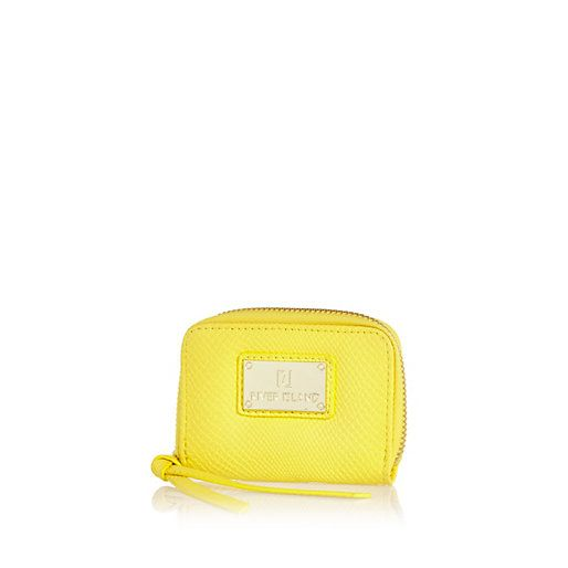 1c347dd19fe Yellow textured mini purse #riverisland | Mellow Yellow | Mini purse ...