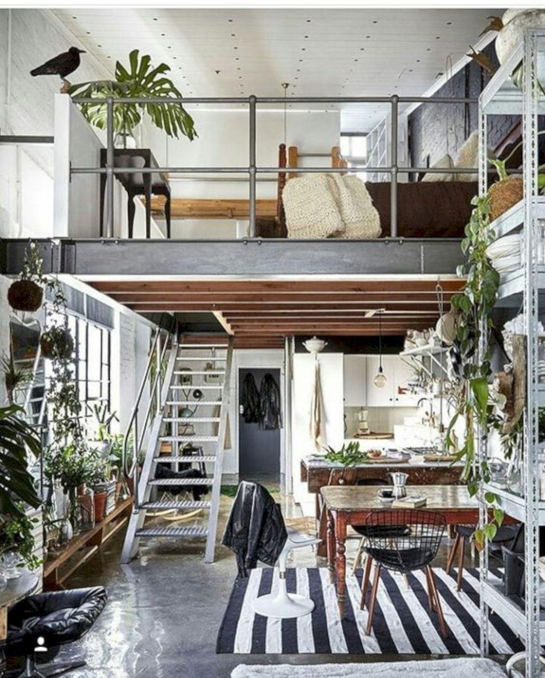 amazing interior design ideas for modern loft https futuristarchitecture also astonishing cool tips industrial house barn table square rh pinterest