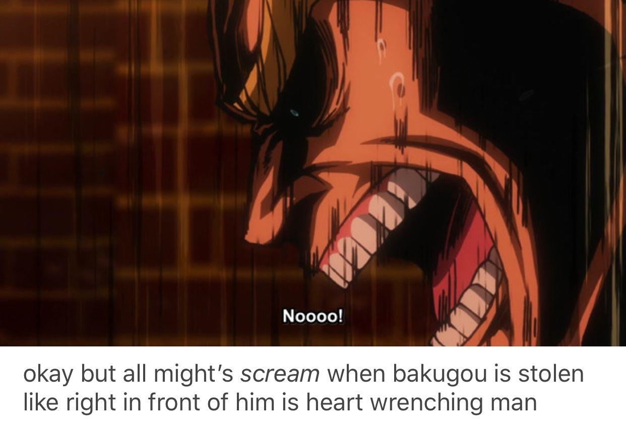 All Might, Boku no Hero Academia, Katsuki Bakugou, #bnha