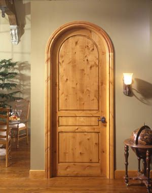 Arched Wood Interior Doors For 1930 S English Cottage Style House Tuscan House Cottage Style Homes Tuscan Style