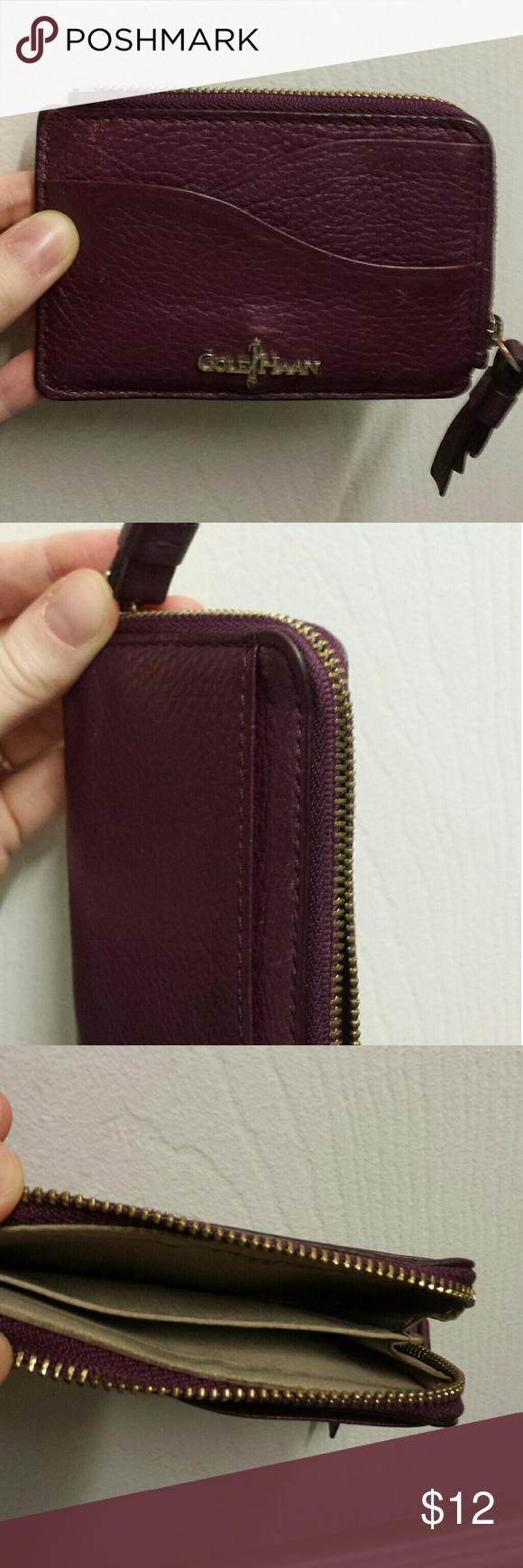 Cole Haan Card Holder | Cole haan, Key card holder and Coins
