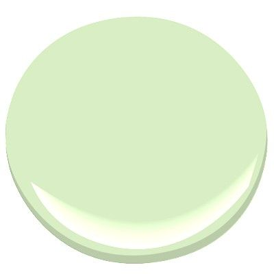 Energy Color Seafoam Green Benjamin Moore New Retro