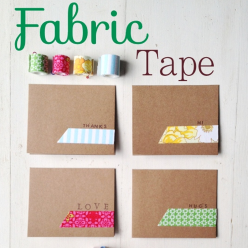 Coming Soon #fabrictape