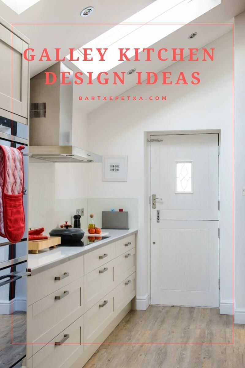 Galley Kitchen Design (Small, Unique, Modern Galley Kitchen Ideas)  Domestic galley kitchen design permits plenty of woodwork to be put into a part of the kitchen, you can have a door or walkways at the finish of the run. galley kitchen design | galley kitchen design floor plans | galley kitchen design layout | galley kitchen design ideas | galley kitchen design layout floor plans | Galley Kitchen Design | #opengalleykitchen Galley Kitchen Design (Small, Unique, Modern Galley Kitchen Ideas)  Dom #opengalleykitchen