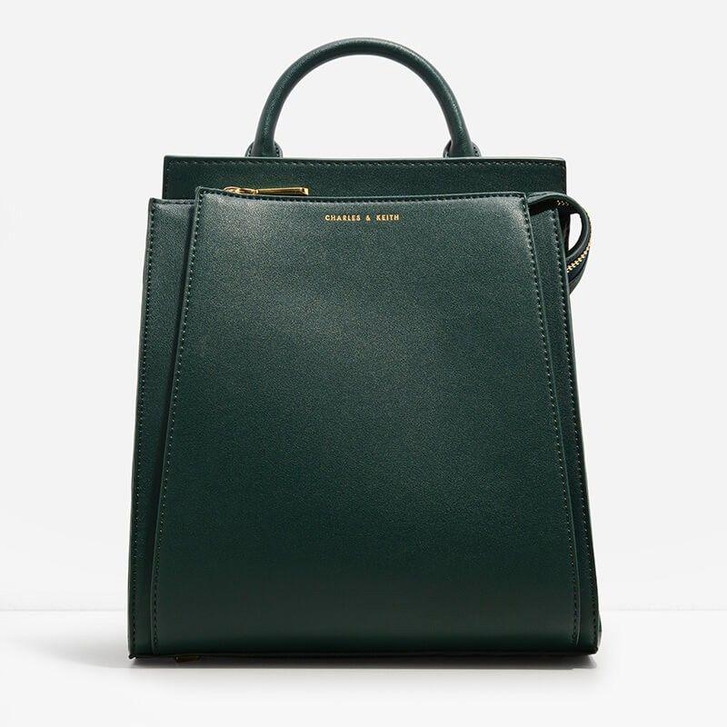 Charles & Keith Basic Top Handle Bag zURVKP
