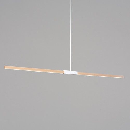 Ylighting 6 Foot Linear Pendant Suspension Light White Pendant Light Fixture Pendant Light Fixtures