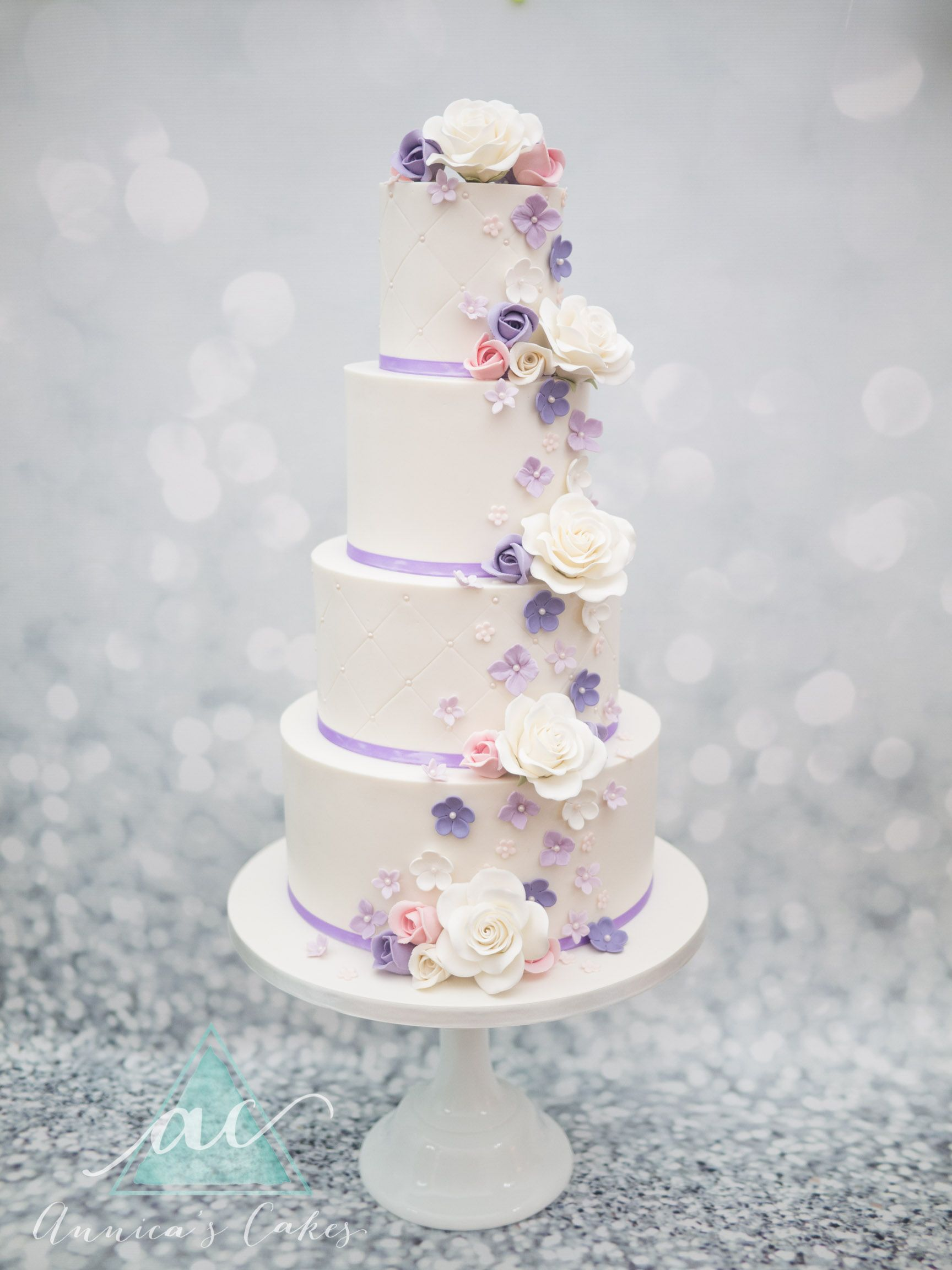 Pin Op Wedding Cakes Annica S Cakes Nl