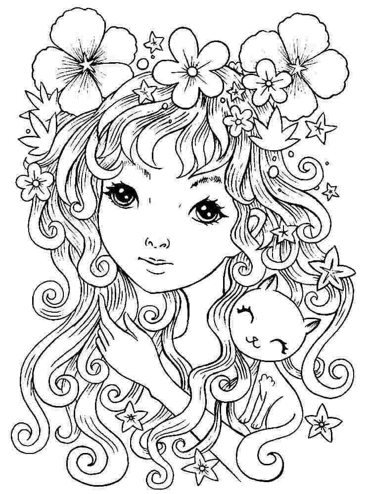 Best Printable Free Coloring Pages Pinterest 777 Amazing