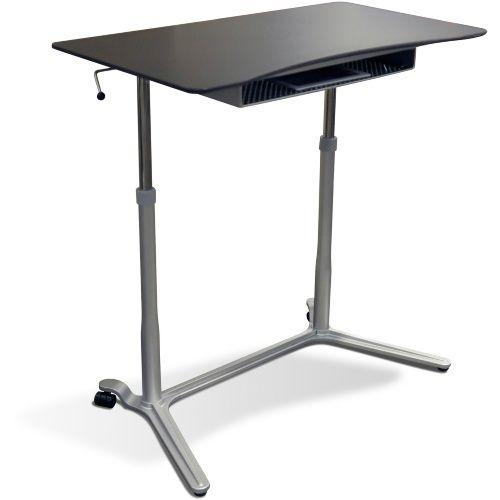 Superbe Jesper Sit U0026 Stand Height Adjustable Standing Desk   Computer Carts At  Hayneedle