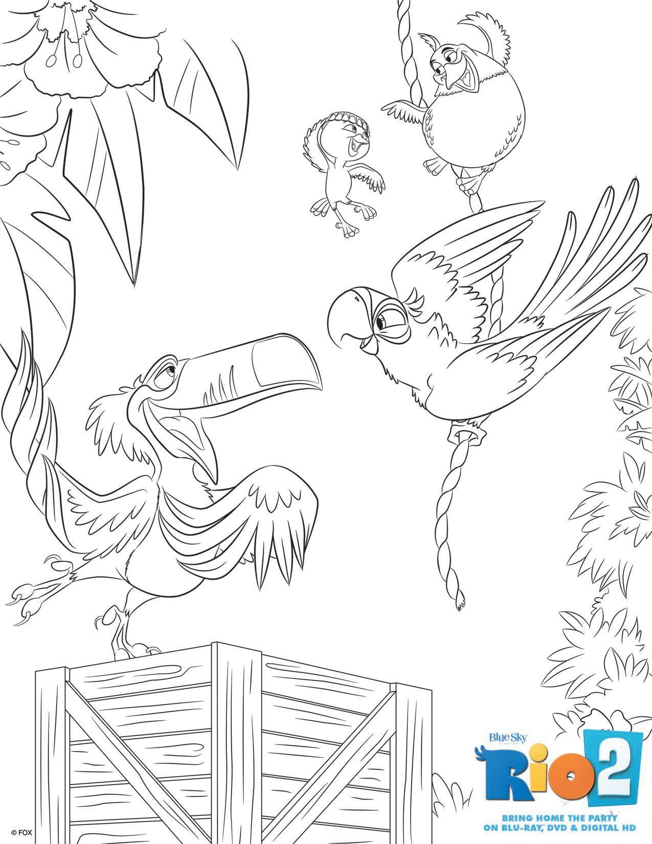 rio2_printables_coloring_6 | Rio Party | Pinterest | Printable ...