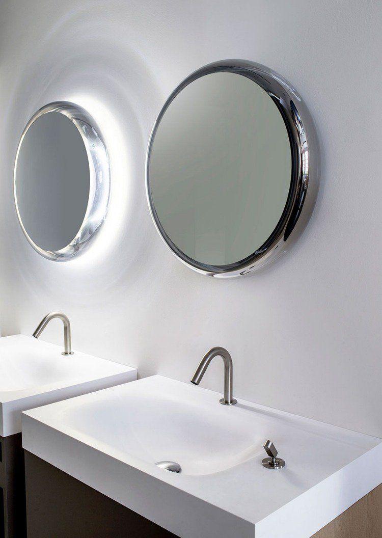 Salle De Bain Lumineuse Design ~ miroir salle de bain lumineux en 55 designs super modernes