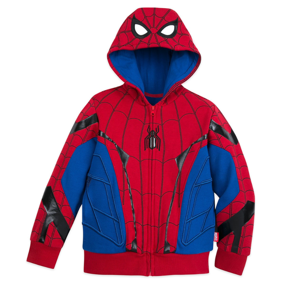 Spider-Man Far From Home T-shirt Short Sleeve Hoodie Spiderman Cosplay Costume