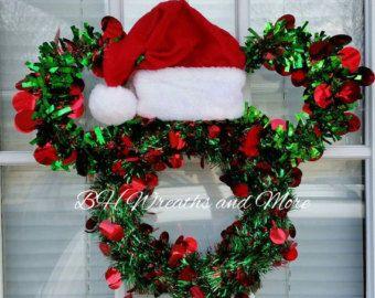mickey mouse christmas wreath - Mickey Mouse Christmas Wreath