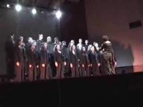 """""""Ave Maria/Pater Noster"""" - composição de Lúcio Zandonadi, meu filho compositor.  Apresentação do Coral Harte Vocal - na Sala Cecília Meirelles em 14 de dezembro de 2007"""