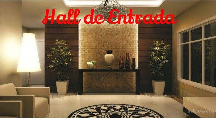 Bela Decor: Hall de Entrada Residencial