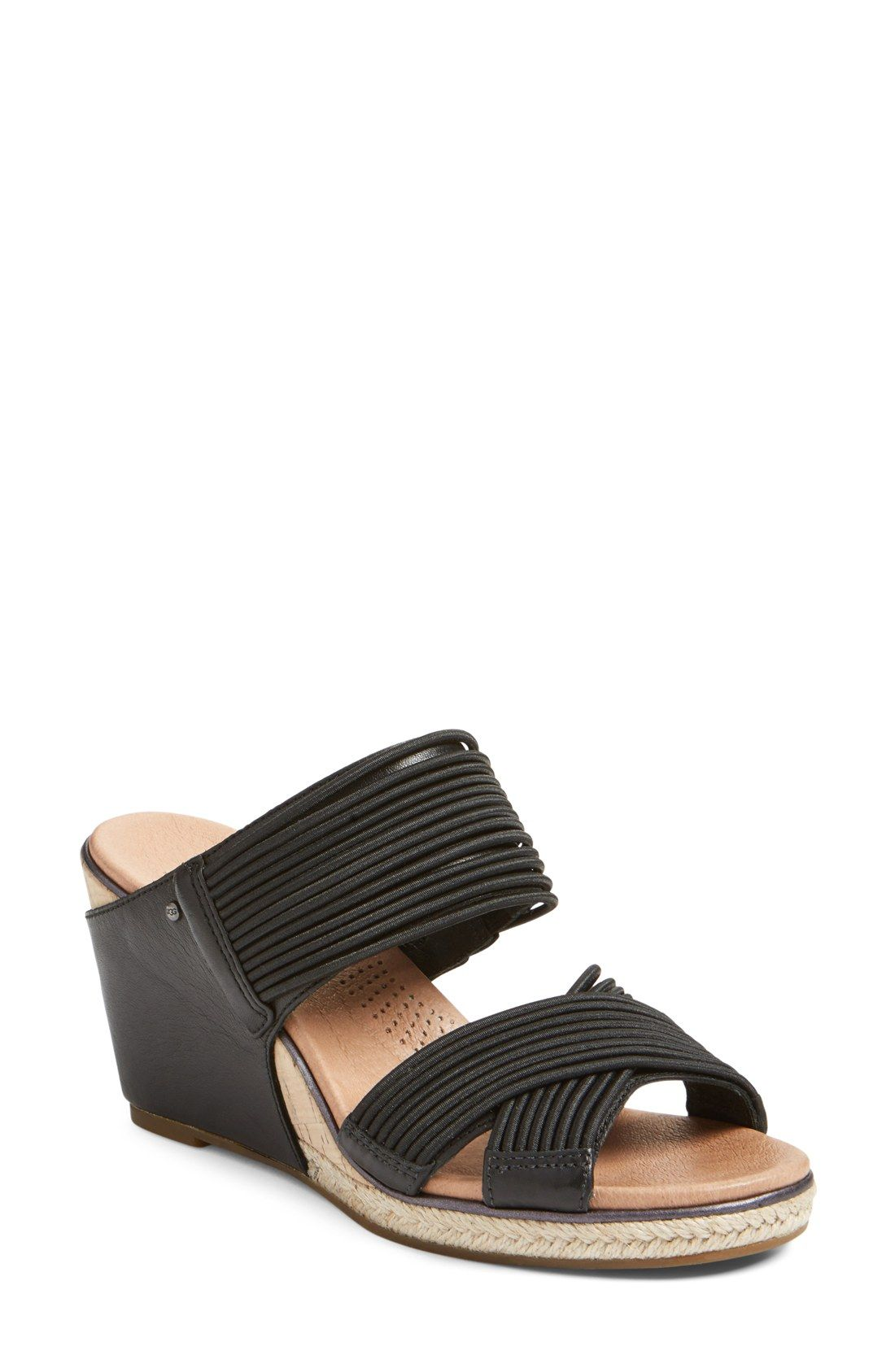 e3df488f9d3 UGG® 'Hilarie' Wedge Sandal (Women) | L'Italia nel'Estate | Wedge ...