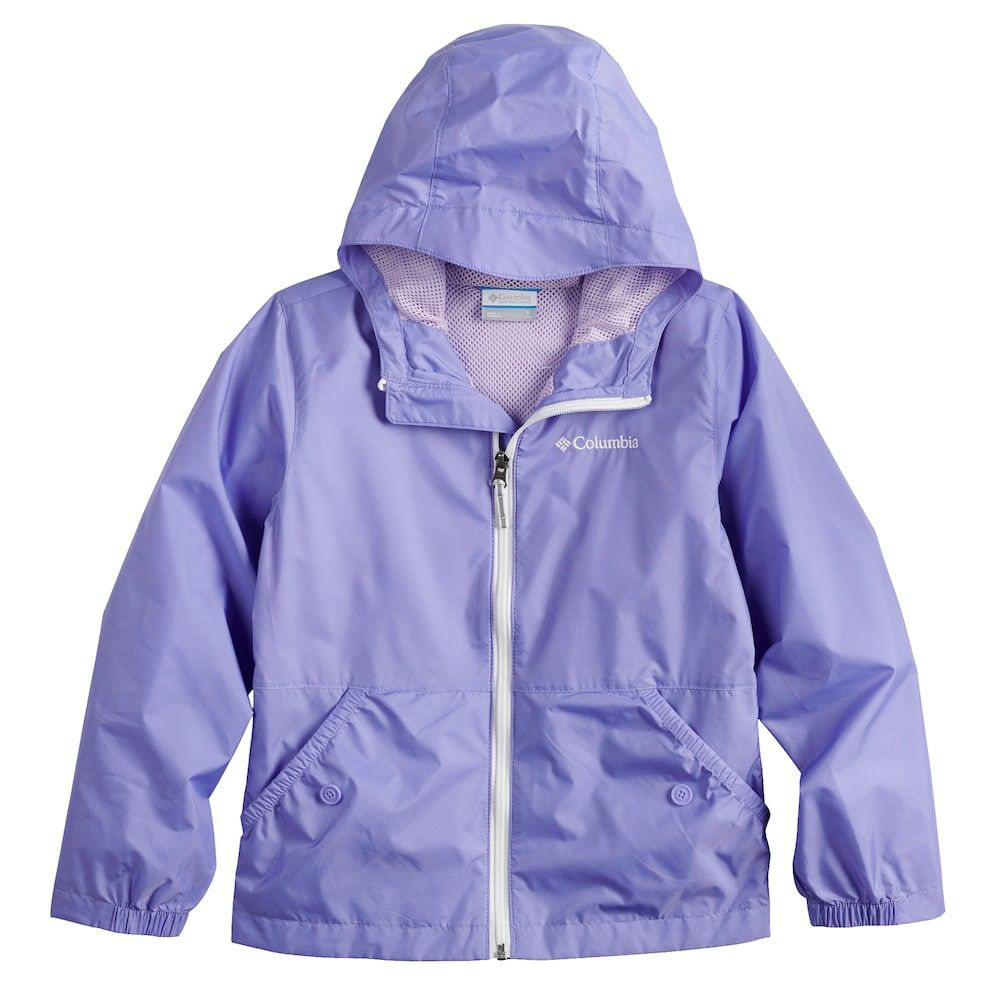 innovative design durable in use extremely unique Columbia Toddler Girl Lightweight Solid Rain Jacket ...