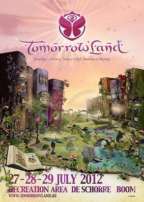 2012 Tomorrowland Poster Amazingly Designed Poster For An Amazing Festival Muziek