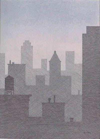 Pierre Le-Tan - New York Mist