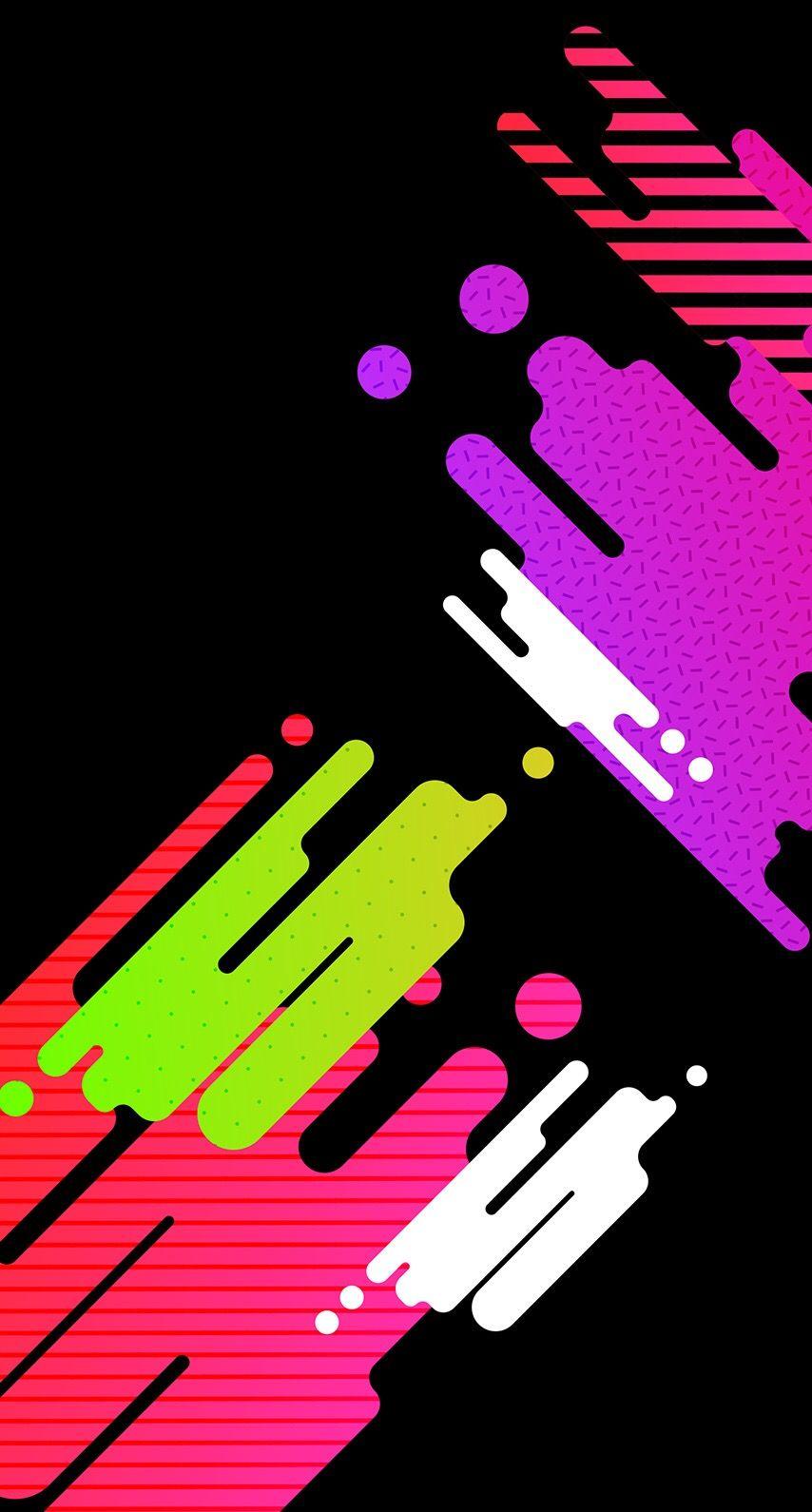 Graffiti Splash Paint Wallpaper *Abstract and Geometric