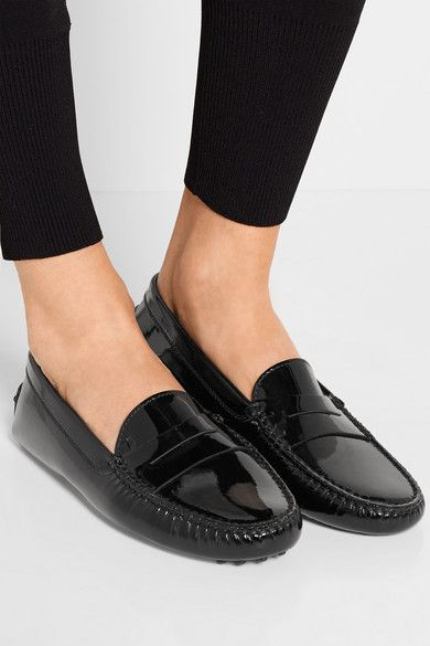 c1e02d67536b Tod s Gommino patent-leather loafers - great go-to every day warm weather  shoe.