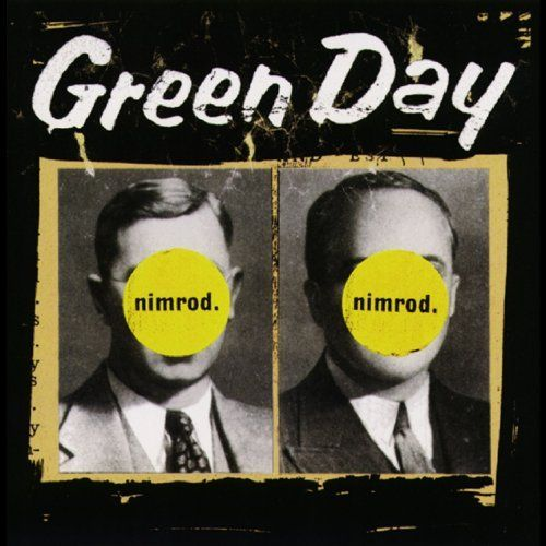 vintage Green day nimrod punk rock 90's t -shirt cMTLT1Q