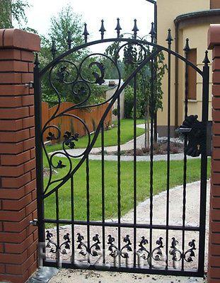 Wrought Iron Gates Simpi Standard Ebay Standard Size 90cm X
