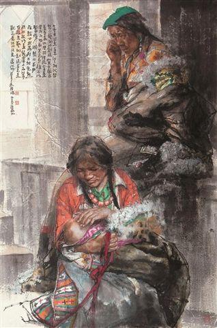 Nan Haiyan (b1962; Dezhou)   Ink on Paper