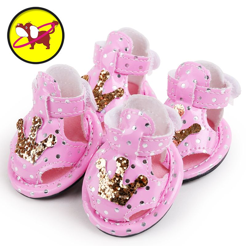 2017 petcircle new arrivals pet dog shoes summer cute crown dog ...