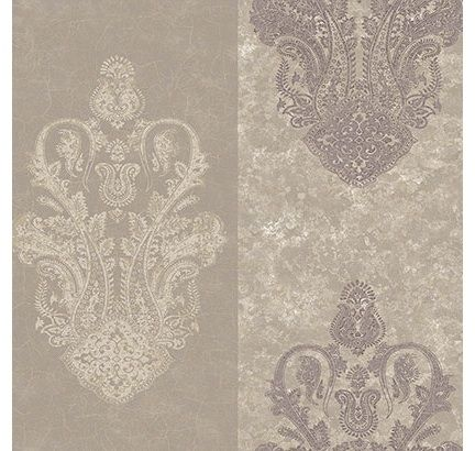 Sherwin Williams wallpaper Paisley wallpaper, Grey