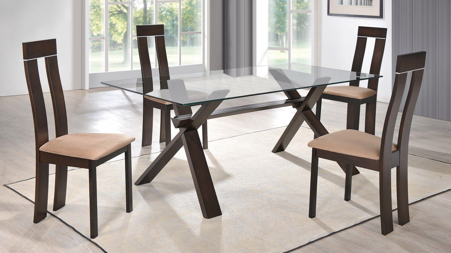 Global D6846DT+D2421DC Diningroom Set - Modern diningroom set ...