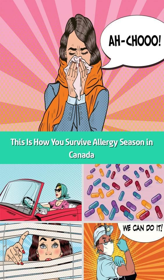 This Is How You Survive Allergy Season in Canada