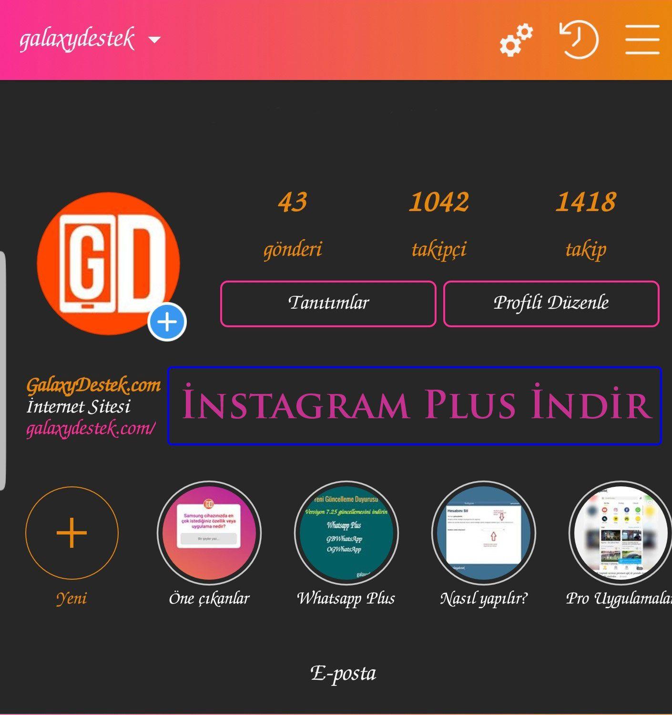 Instagram Plus Yukle Son Surum 2020 Instagram Uygulamalar Videolar