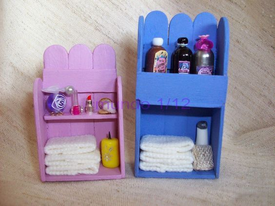 Was tun mit Eiscremesticks? 73 - Mimuu.com  #Diydollhousefurniture #barbie